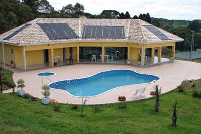 Aquecedor Solar Residencial